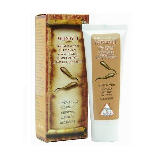 Wirovit Krem-balsam do masażu z pijawką lekarską 75ml (5907806227127)