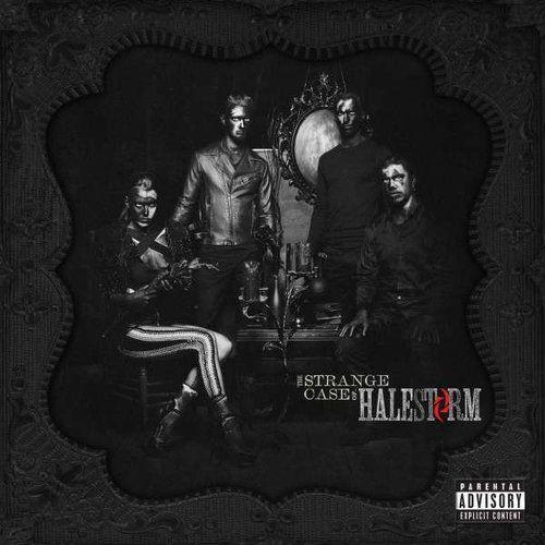 Warner music / roadrunner records Strange case of..,the - halestorm (płyta cd)