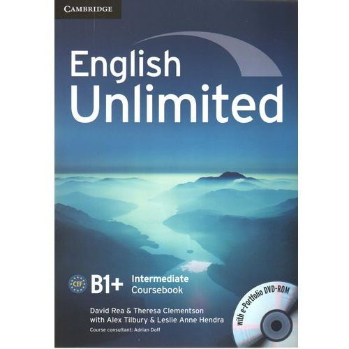 English Unlimited Intermediate CourseBook w/e-portofolio /DVD gratis/, Cambridge University Press