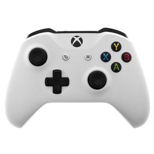 Kontroler xbox one biały + kontroler 20% taniej przy zakupie konsoli xbox! + zamów z dostawą jutro! + darmowy transport! marki Microsoft