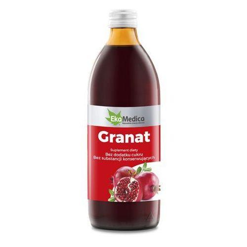 Granat sok 100% (1 l) marki Ekamedica