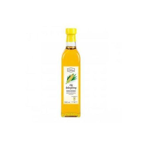 Olvita Olej kukurydziany tłoczony na zimno nieoczyszczony 500 ml
