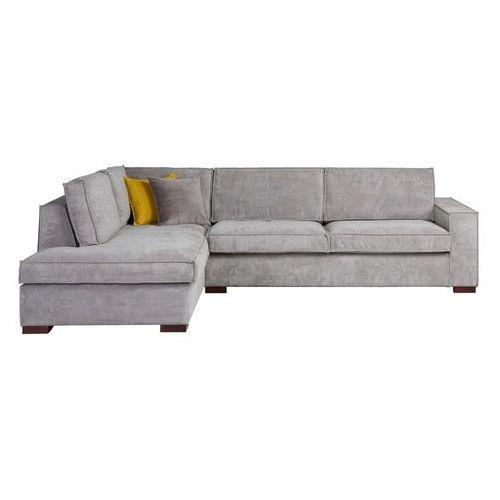 kanapa narożna lewa thomas szary wyblakły - woood 375677-g marki Woood