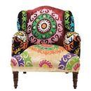Oferta Kare Design Mandala Fotel Kolorowy Tkanina 105x85x90cm - 76655 [f532dca10f734326]