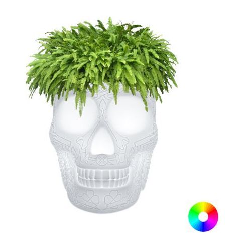Qeeboo czaszka mexico planter led 70009led