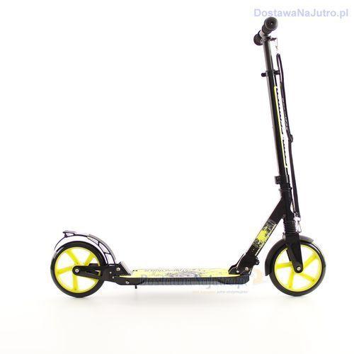 HULAJNOGA  100kg XL AMORTYZACJA czarno-zielona, BikeStar