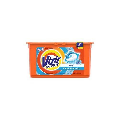 Kapsułki do prania do bieli i kolorów vizir go pods touch of lenor freshness (38 sztuk) marki Procter & gamble