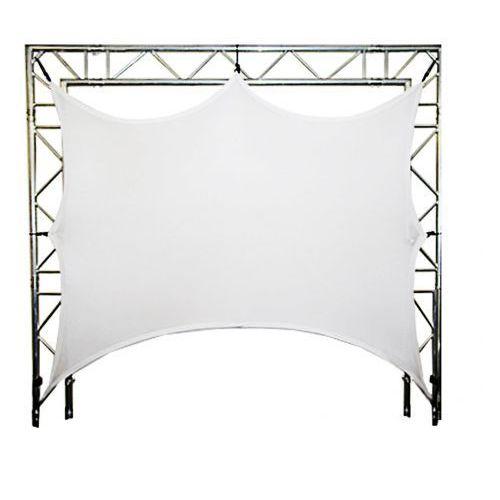 dt screen-05-2 biały ekran do konstrukcji scenicznych 0,5x2m marki Duratruss