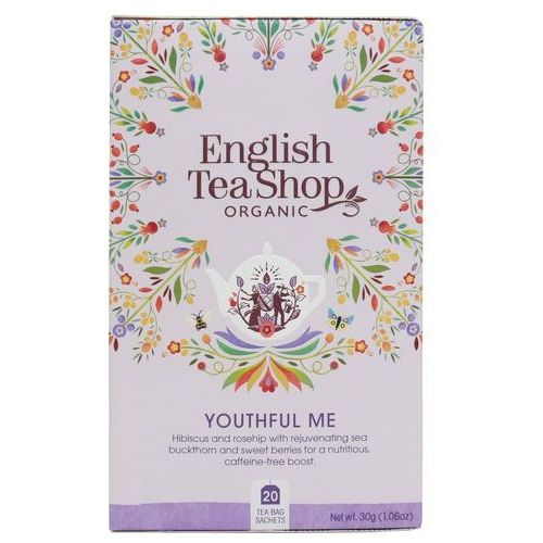 Herbatka ziołowa Youthful Me 20x1,5g BIO 30 g English Tea Shop
