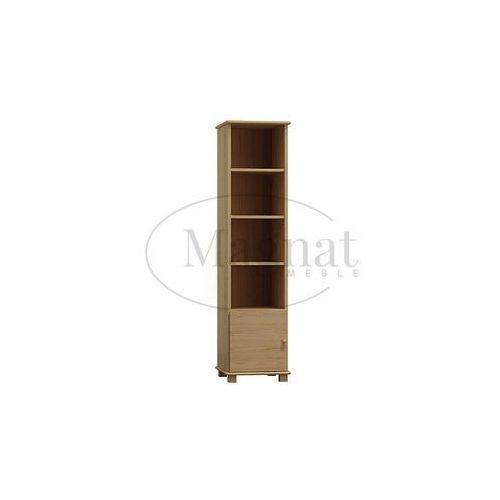 Biblioteczka drewniana nr6