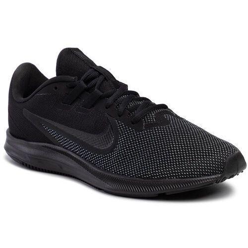 Nike Buty - downshifter 9 aq7481 005 black/black//anthracite