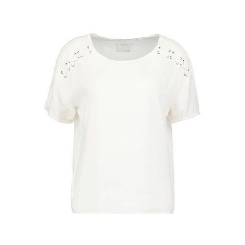 Vero Moda VMLOMI Tshirt z nadrukiem snow white