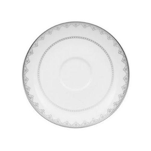 - white lace spodek do filiżanki do herbaty średnica: 15 cm marki Villeroy & boch