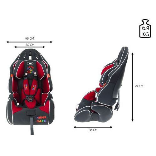 Fotelik samochodowy 9-36 kg KinderSafe Pro Comfort GE-G (5902921964582)