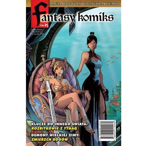 Fantasy Komiks Tom 25 - Wysyłka od 3,99 - porównuj ceny z wysyłką (9788328110960)