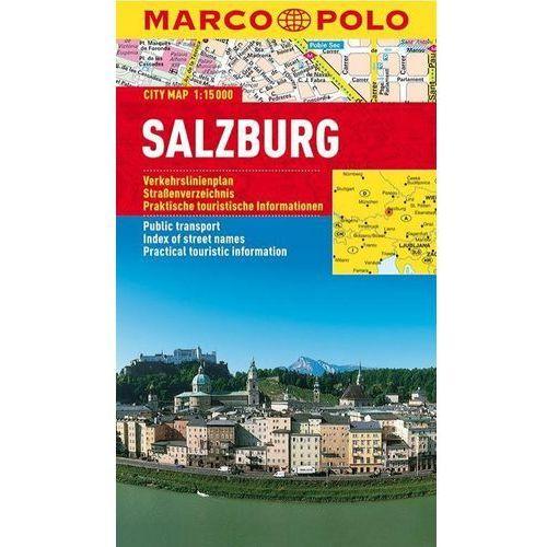 Salzburg mapa 1:15 000 Marco Polo (2012)