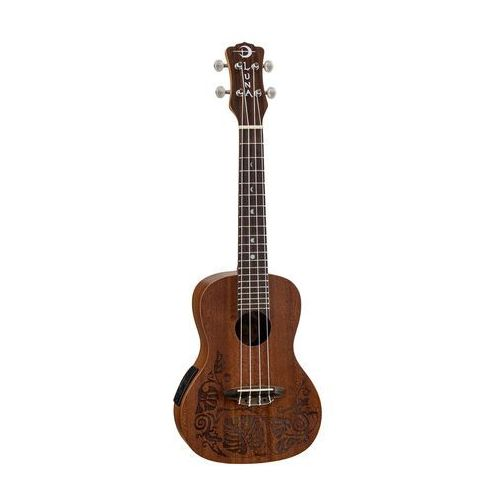 uke mo a/e mahogany - elektryczne ukulele koncertowe marki Luna