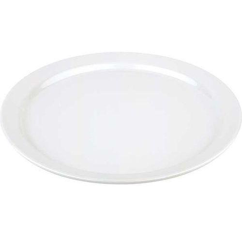 Półmisek okrągły z melaminy o średnicy 410 mm, biały | APS, Pure