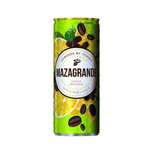 Tchibo Mazagrande 250ml napój gazowany z ekstraktem kawy o smaku cytrynowym