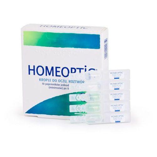 Boiron Homeoptic 0,4 x 10 minimsów - data ważności 30-06-2018r.
