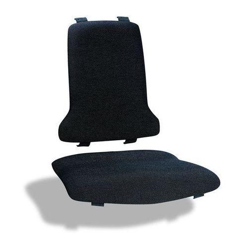 Obicie, wersja ESD, po 1 obiciu na siedzisko i oparcie, obicie materiałowe, czar