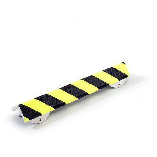 Shg pur-profile Profil ostrzegawczy i ochronny knuffi®,typ h+, dł. 500 mm, przekrój: duży półteownik
