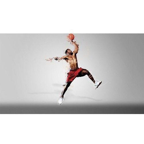 Wodoodporna Fototapeta Wysokiej Jakości (200x110cm) - dunker biały, Basketo z SPORT-TRADA
