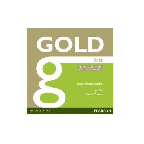 Gold First. CD do Podręcznika (9781447973874)
