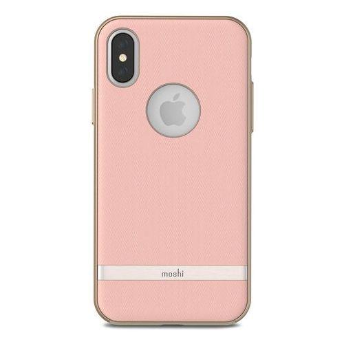 Moshi Vesta - Etui iPhone X (Blossom Pink), kolor różowy