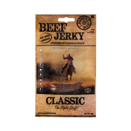 BULLSEYE MEATS 50g Beef Jerky Classic Peklowana suszona wołowina