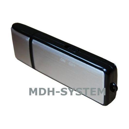 Mikro rejestrator dźwięku, dyktafon, Pendrive 16 GB BLACK, do 190 godzin nagrań