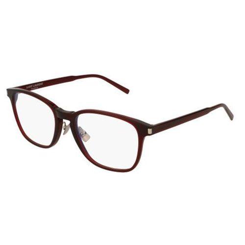 Okulary korekcyjne sl 186 slim 004 marki Saint laurent