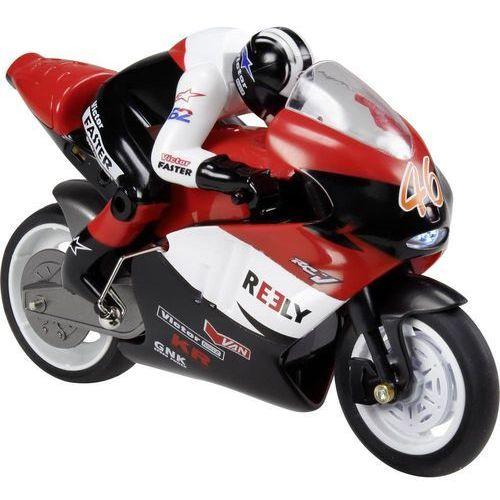 Motocykl RC dla początkujących Reely Motorbike, 1:10, Elektryczny, 140 mm, RtR (4016138978223)