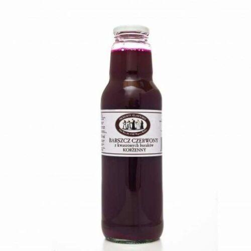 Produkty klaszt Barszcz czerwony z kwaszonych buraków korzenny 750 ml orne
