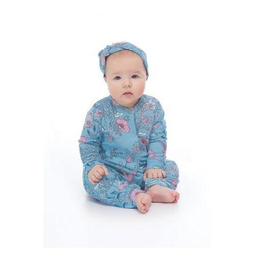 Pajac niemowlęcy w kwiaty 6R37A7
