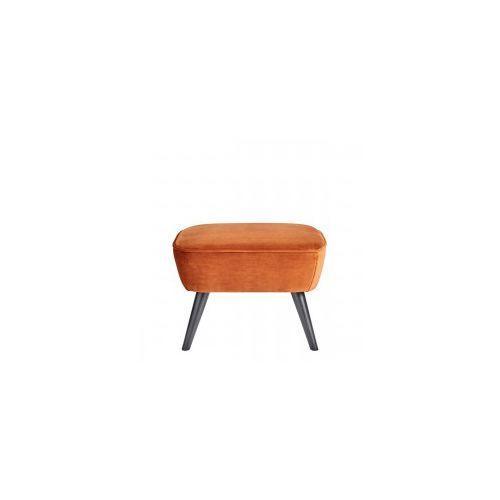 Taboret SARA aksamitna rdzawy - Woood, 350408-R