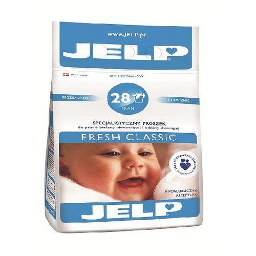 JELP Hipoalergiczny proszek do prania Fresh Classic biel 2,24 kg (28 prań) (proszek do prania ubrań)