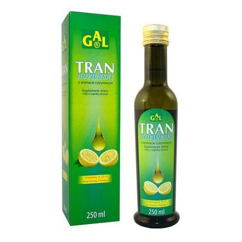 Tran norweski o aromacie cytrynowym 250 ml (Gal) (5907501110380)