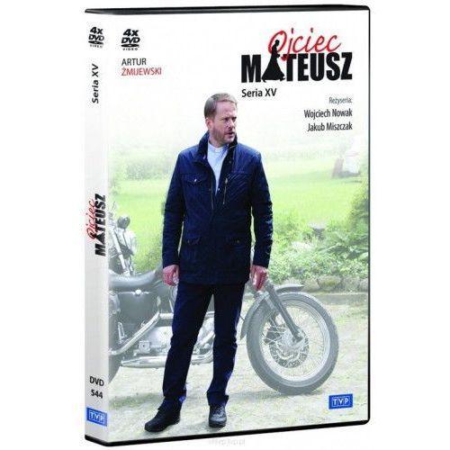 Tvp Ojciec mateusz. seria 15 (4 dvd) (płyta dvd) (5902739660188)