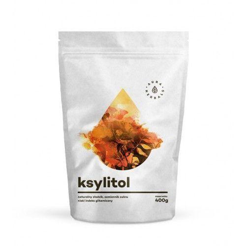 Ksylitol fiński - naturalny słodzik - 400g - marki Aura herbals