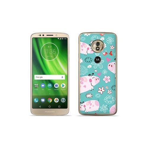 etuo Fantastic Case - Motorola Moto G6 Play - etui na telefon Fantastic Case - różowe świnki, kolor różowy