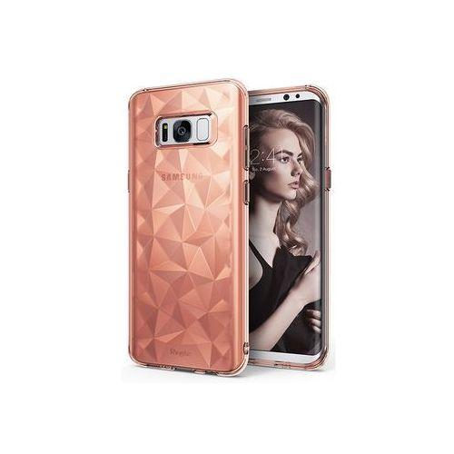 Samsung galaxy s8 - etui na telefon air prism - różowy marki Ringke
