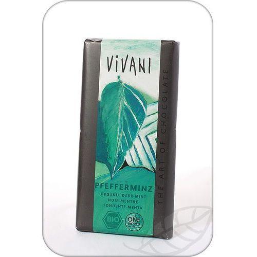 Vivani : czekolada z miętą pieprzową bio - 100 g