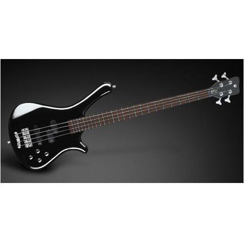 fortress 5-str. black solid high polish, active, fretted gitara basowa marki Rockbass