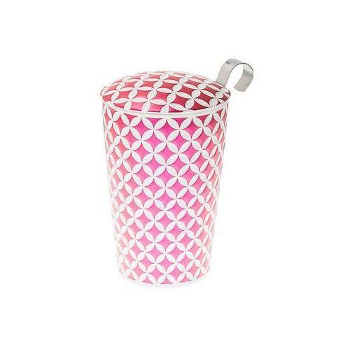 Eigenart kubek z zaparzaczem TeaEve May Lin Pink 350 ml (4260082935669)