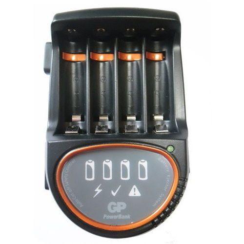 Gp batteries Ładowarka akumulatorowa gp pb50 powerbank premium do 4xaa/aaa