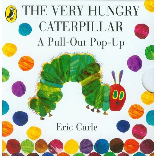 The Very Hungry Caterpillar: a Pull-out Pop-up, oprawa kartonowa