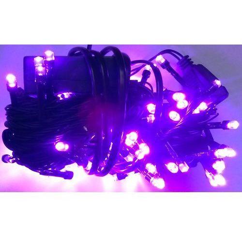Lampki choinkowe LED 100 fioletowy i sterownik z kategorii ozdoby świąteczne