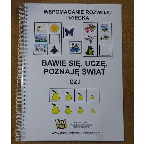 """Kreatywne ksiązki """"Bawię się uczę, poznaję świat cz. I i cz. II"""""""