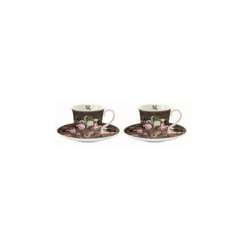 Nouva-r2s Nuova r2s zestaw 2 szt. filiżanek espresso z talerzykami / 1175 der